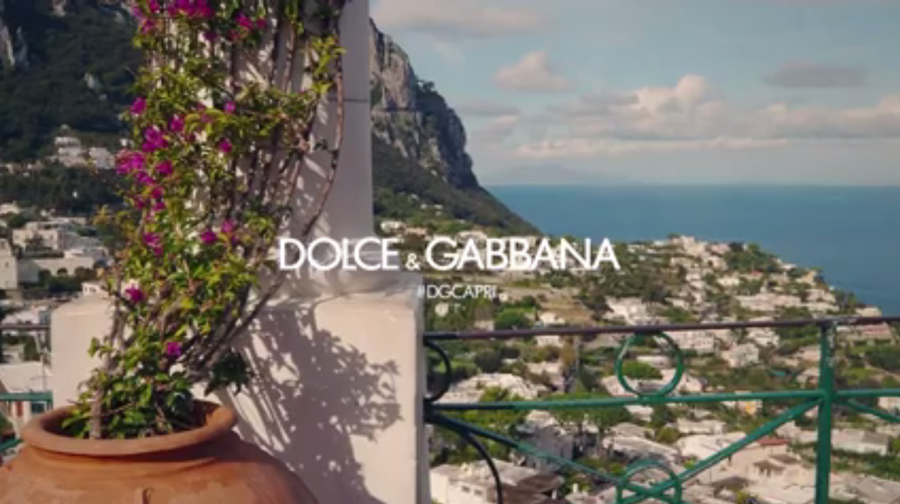 Capri negli spot: Dolce& Gabbana Advertising 2017