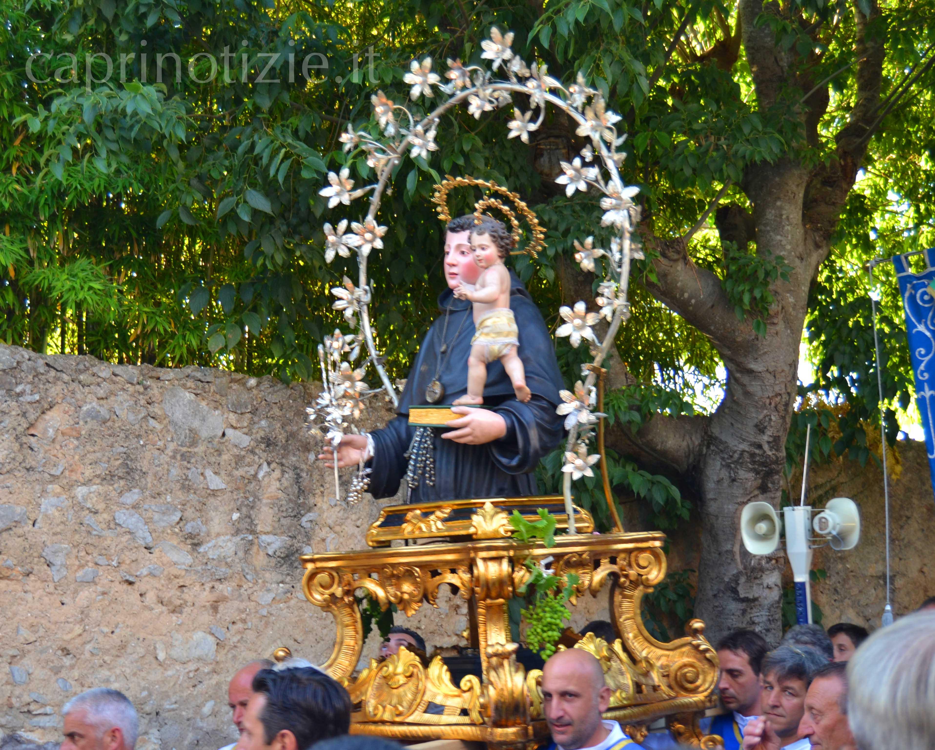 Anacapri,festa di Sant' Antonio 2013 il programma completo dei festeggiamenti