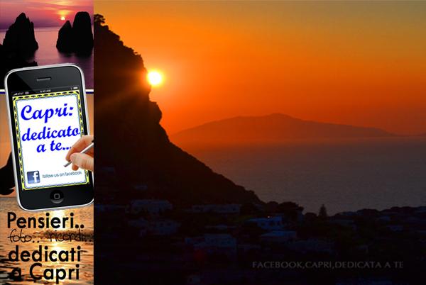 """L'amore per Capri su Facebook, """"Capri,dedicata a te"""""""