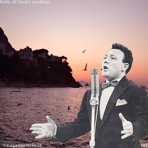 Qui' sotto il cielo di Capri di Claudio Villa
