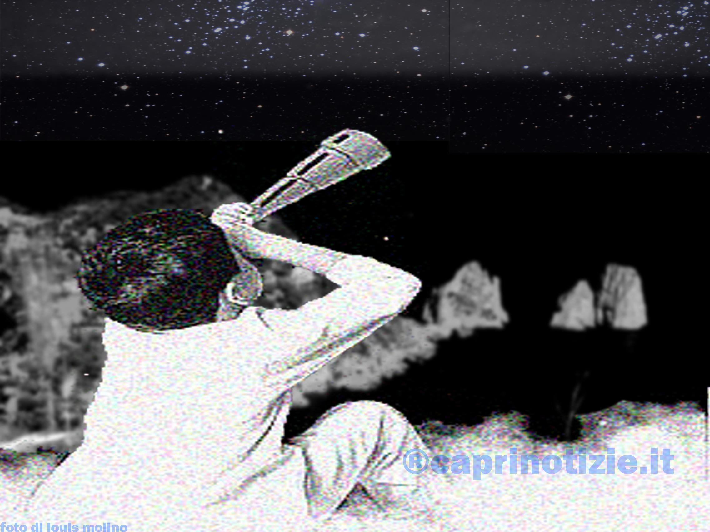 Serata astronomica al monte solaro Kaire arte