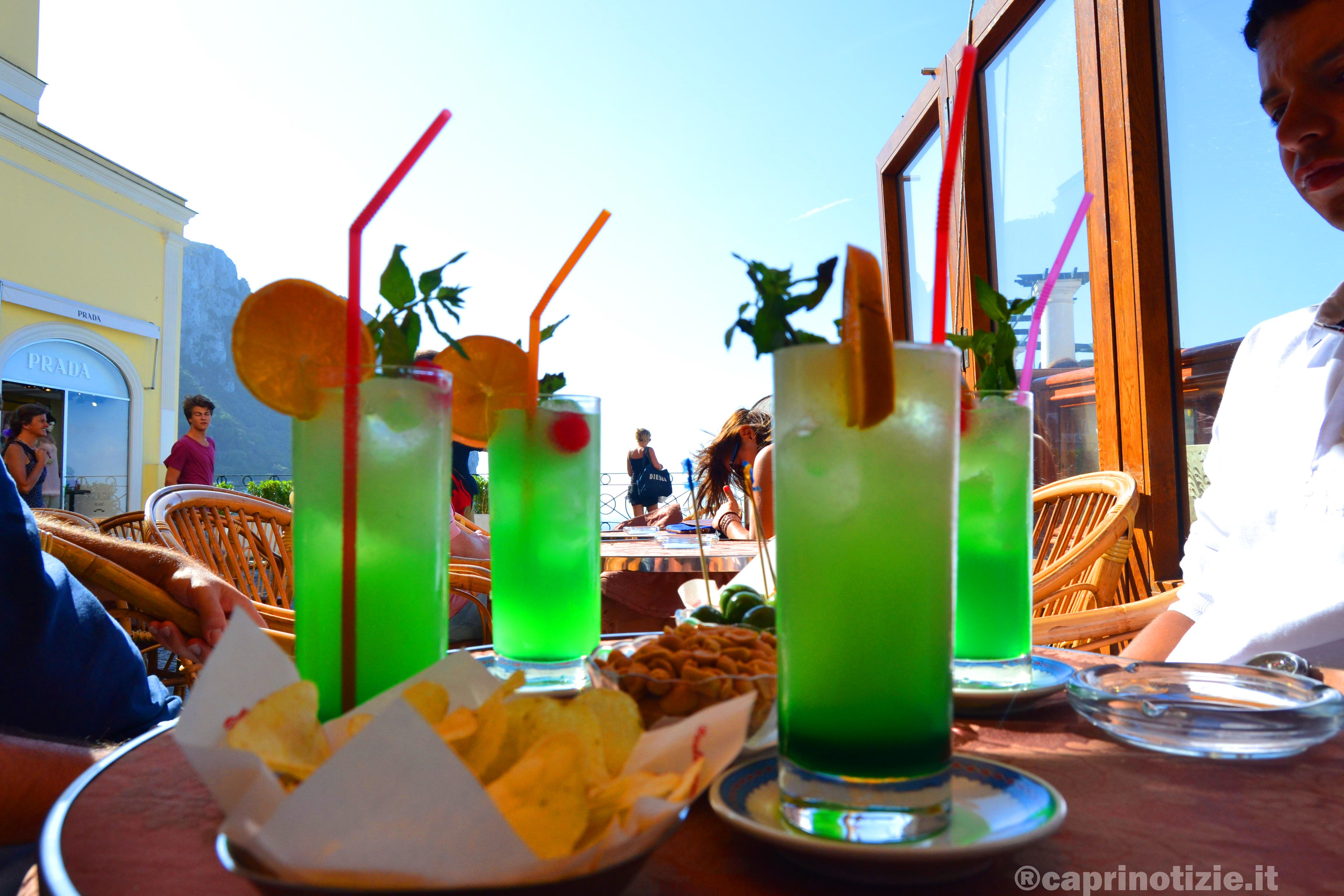 """Smeralda Island, da Capri il drink """"all green"""""""