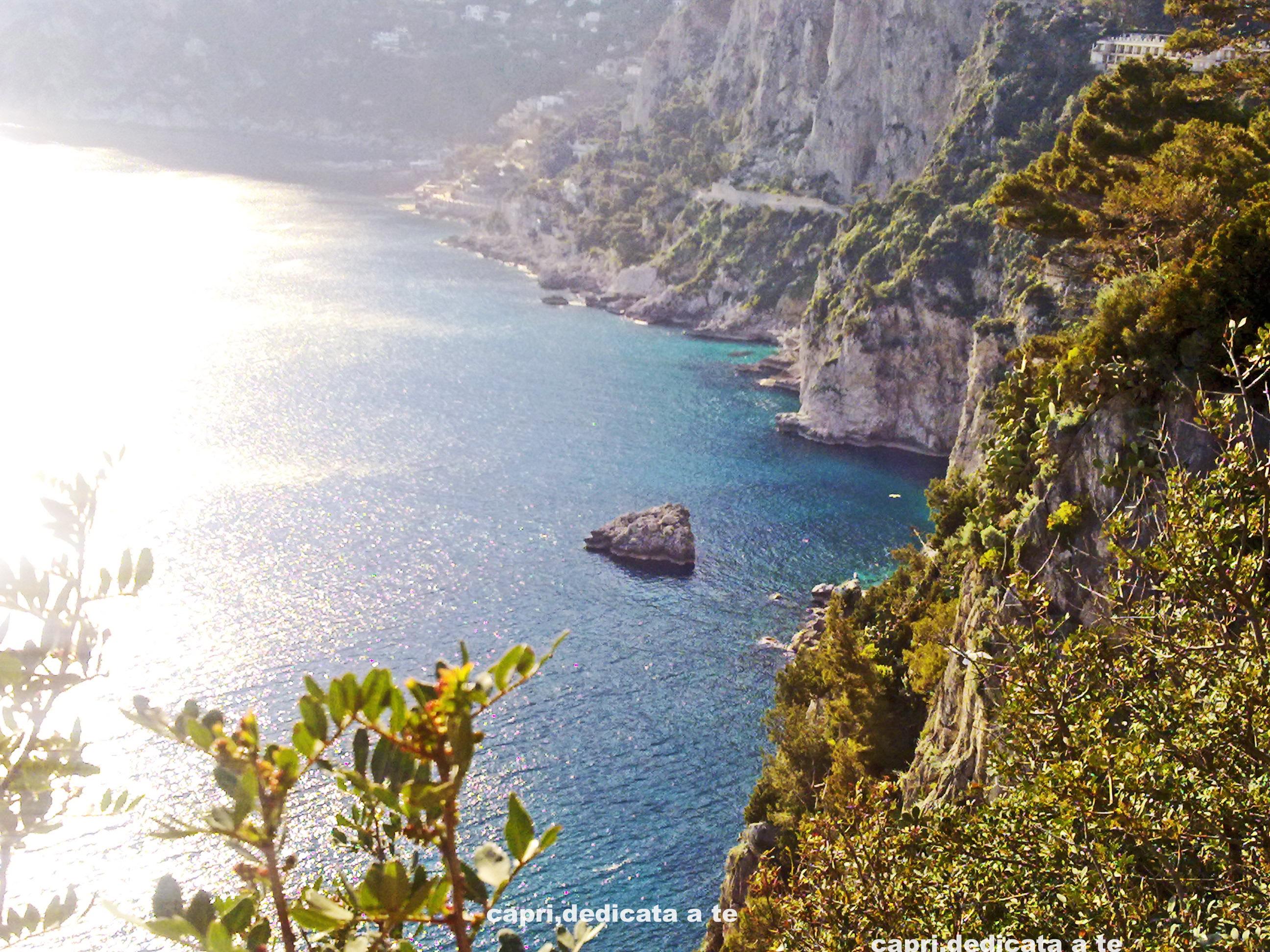 Capri, temperature e umidita' da record