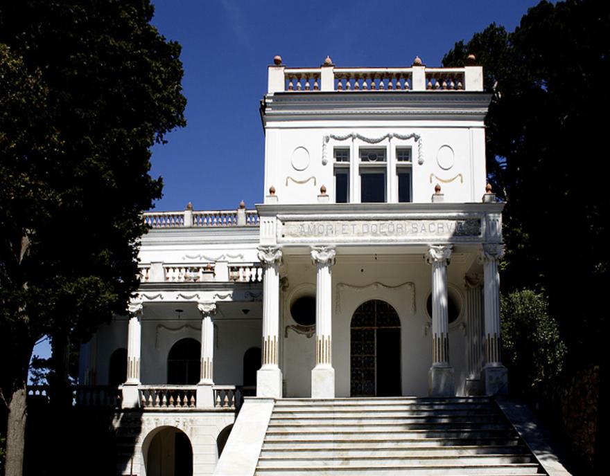 Capri villa Lysys, la classica d'estate concerto al tramonto
