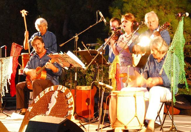 Capri, i meza de Seje in concerto all' hotel Sirene