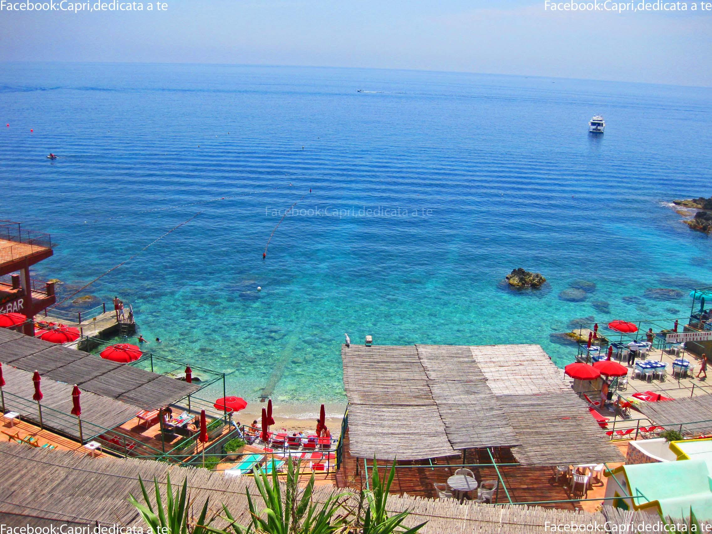 Capri, settembre con temperature da record