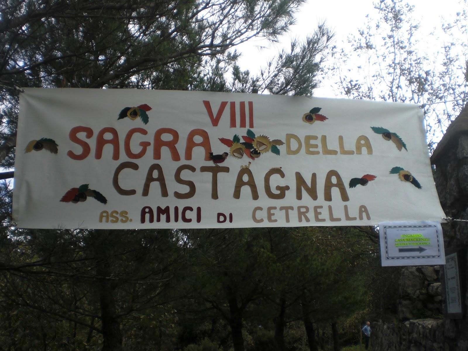 Capri,la Sagra della castagna a Cetrella