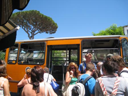 Capri, caos trasporti bus, i nuovi orari atc (ex sippic)