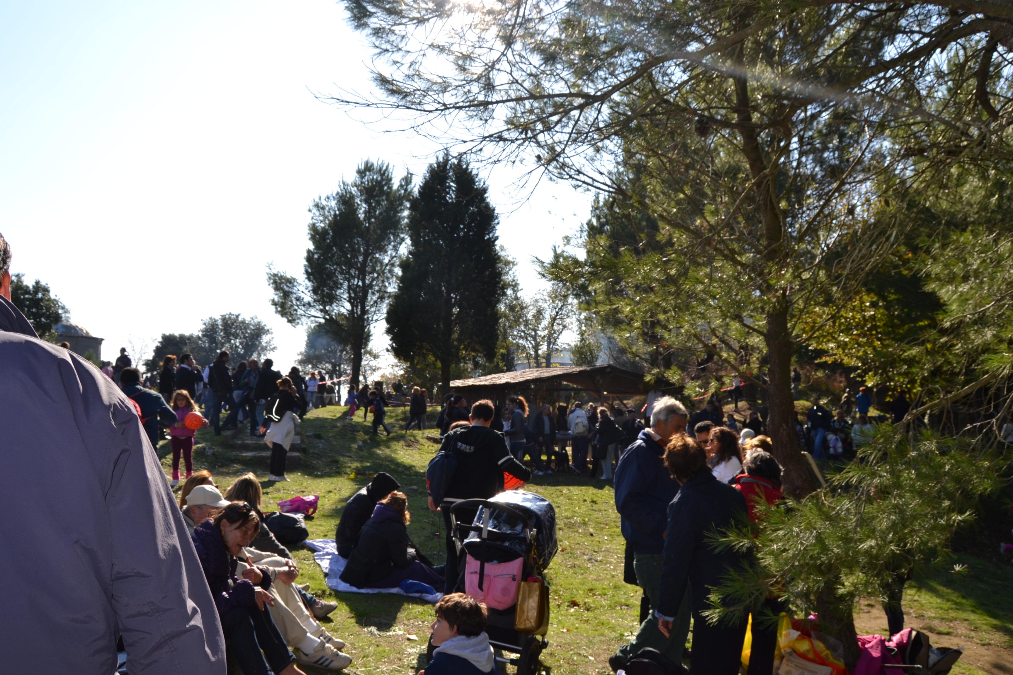 Sagra Castagna Cetrella 2011, grande partecipazione