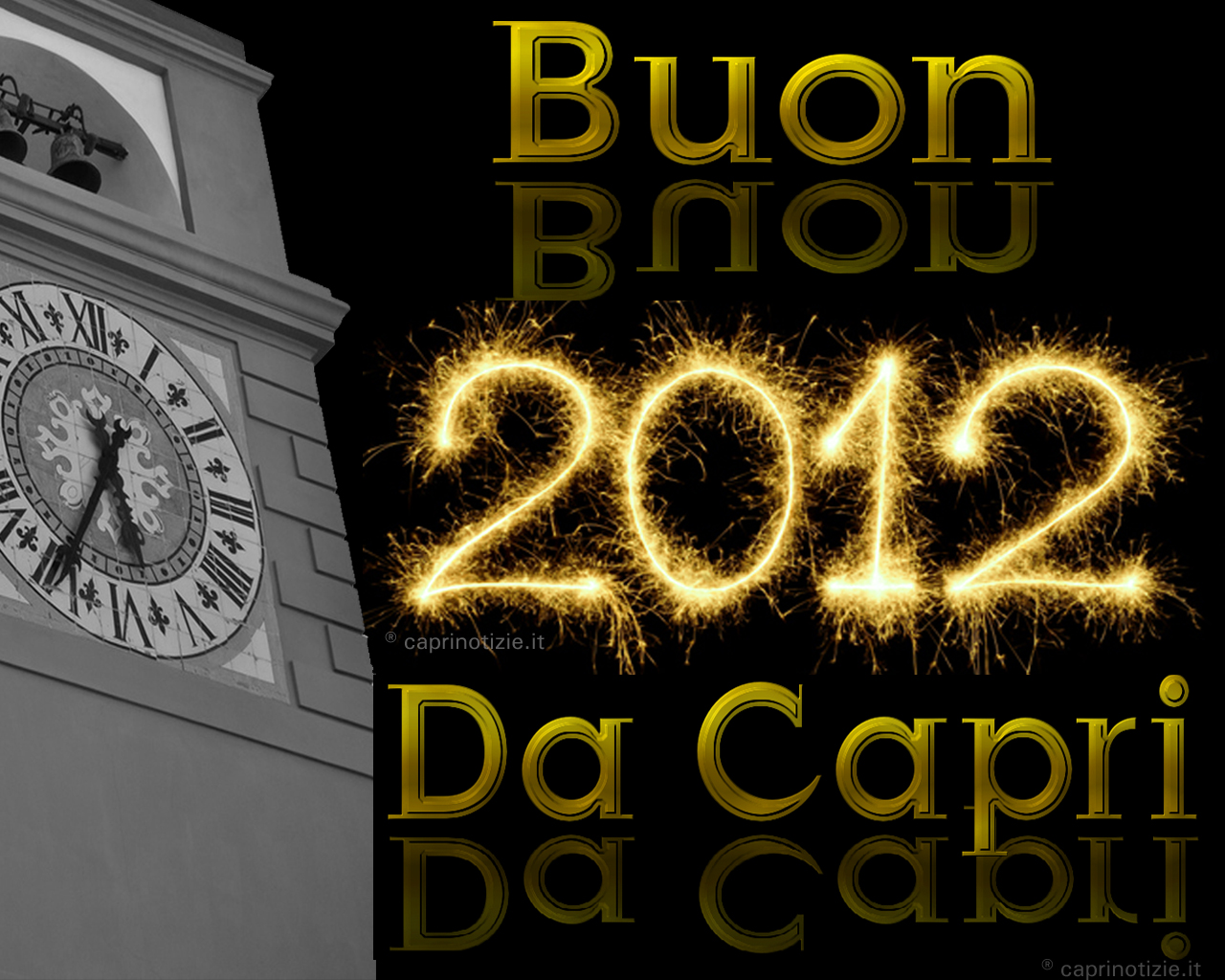 Capodanno a Capri, brindisi e discoteca in piazzetta con i vip
