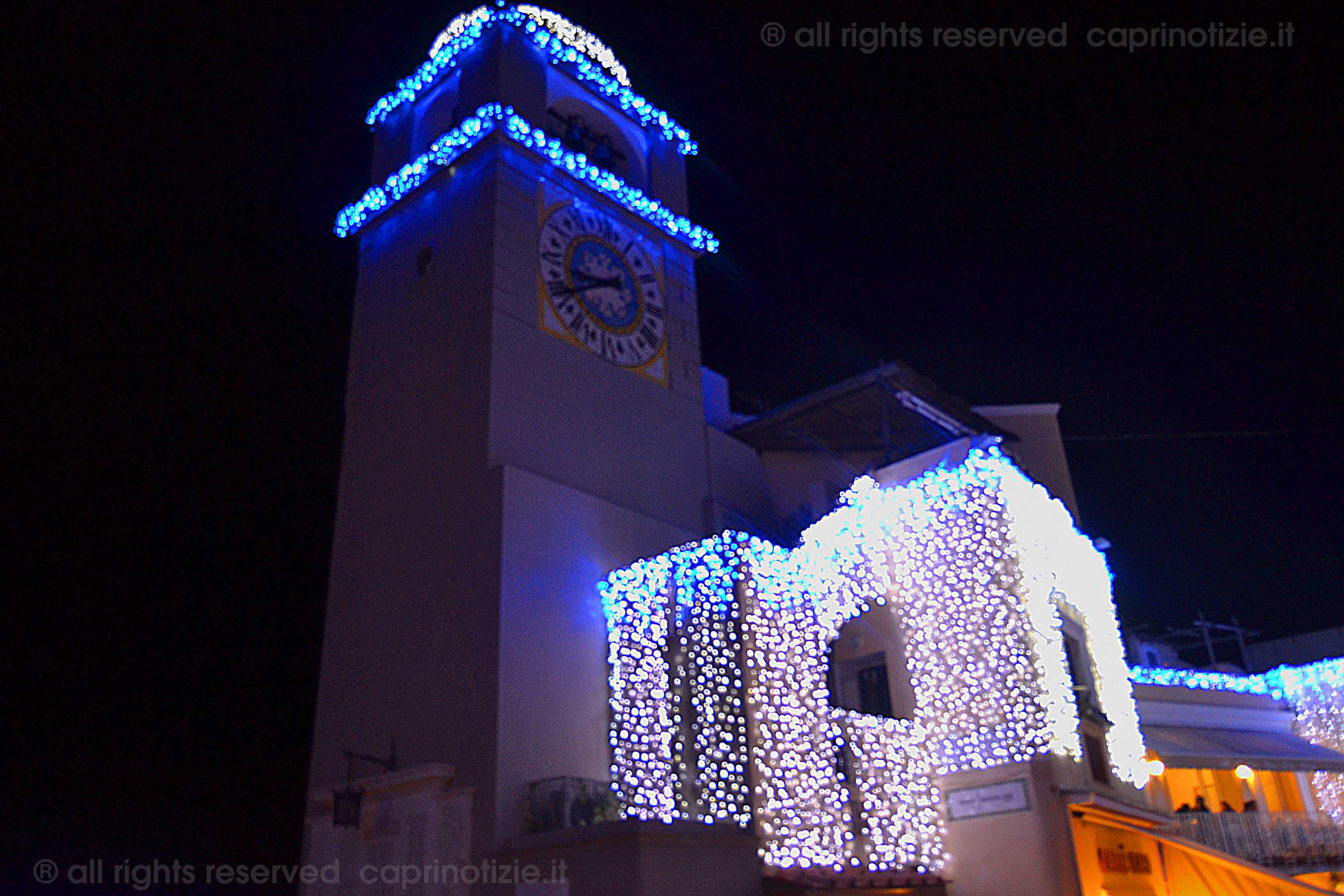 Capri, il programma delle manifestazioni di Natale e capodanno 2011