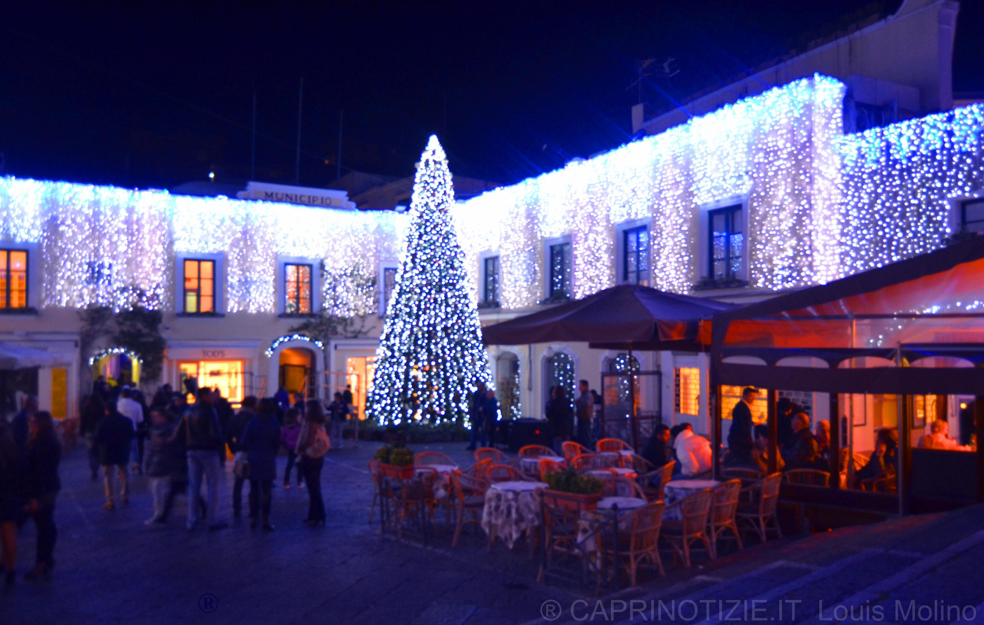 Capri si accende il natale 2011