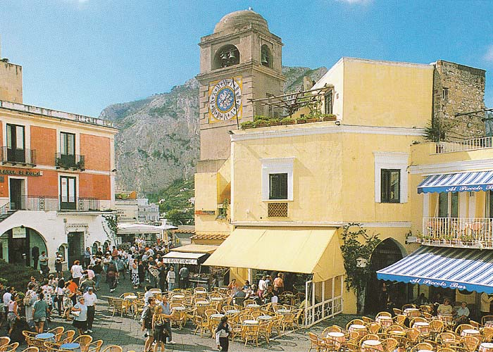 Capri, vacanza documentario del 1975