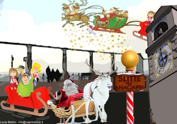 trasporti capri vignetta aliscafi navi bus