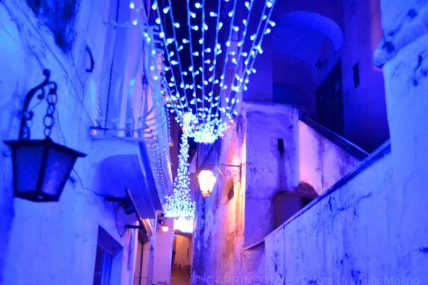 capri natale luci illuminazione 2011 vacanze