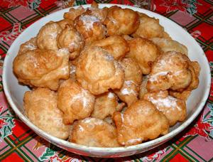 Da Capri Le Zeppulelle di Natale, La ricetta tipica della tradizione