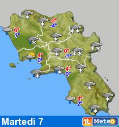 Nevicata a Capri? almeno secondo le previsioni del tempo di oggi