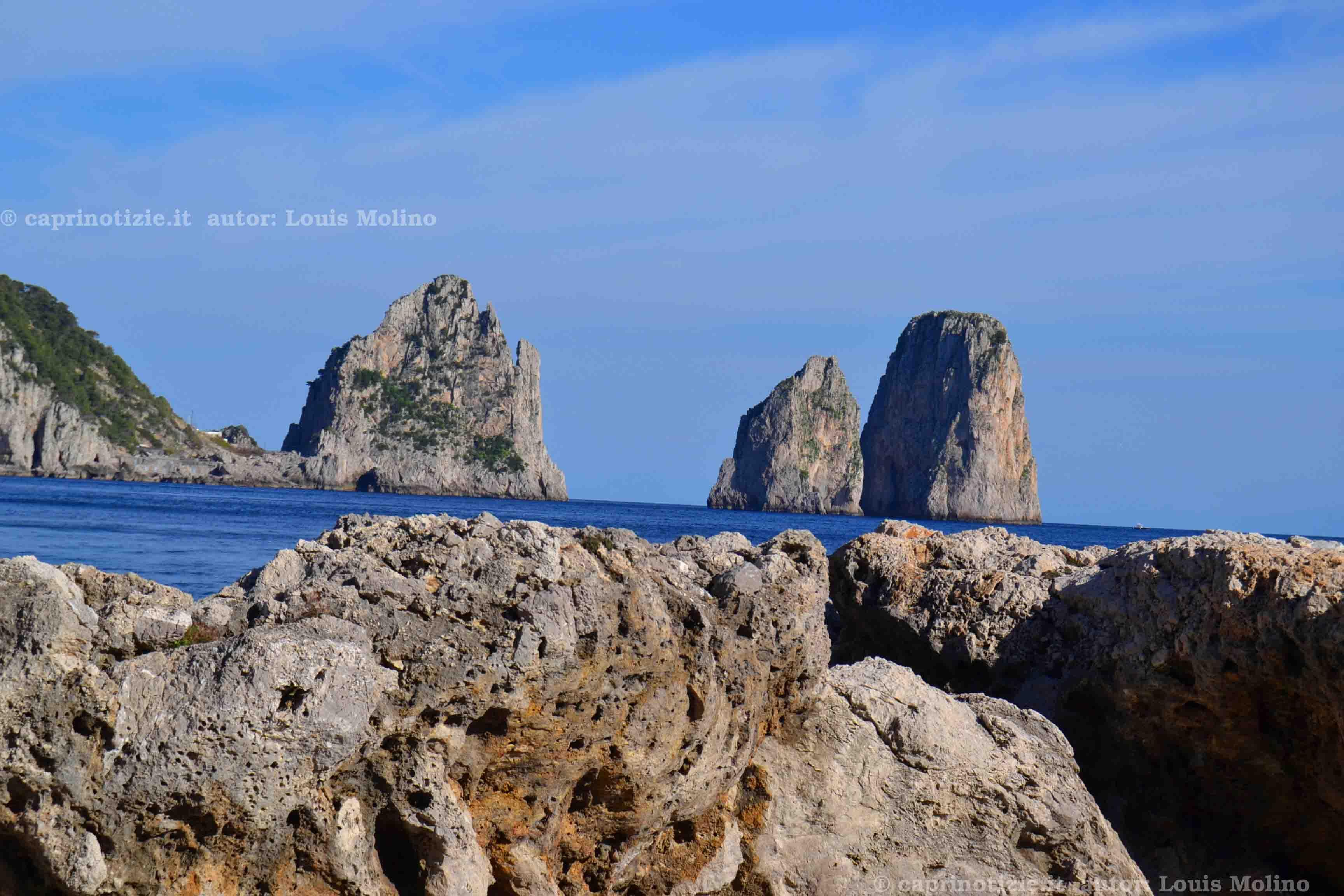 Primavera a Capri, foto e pensieri