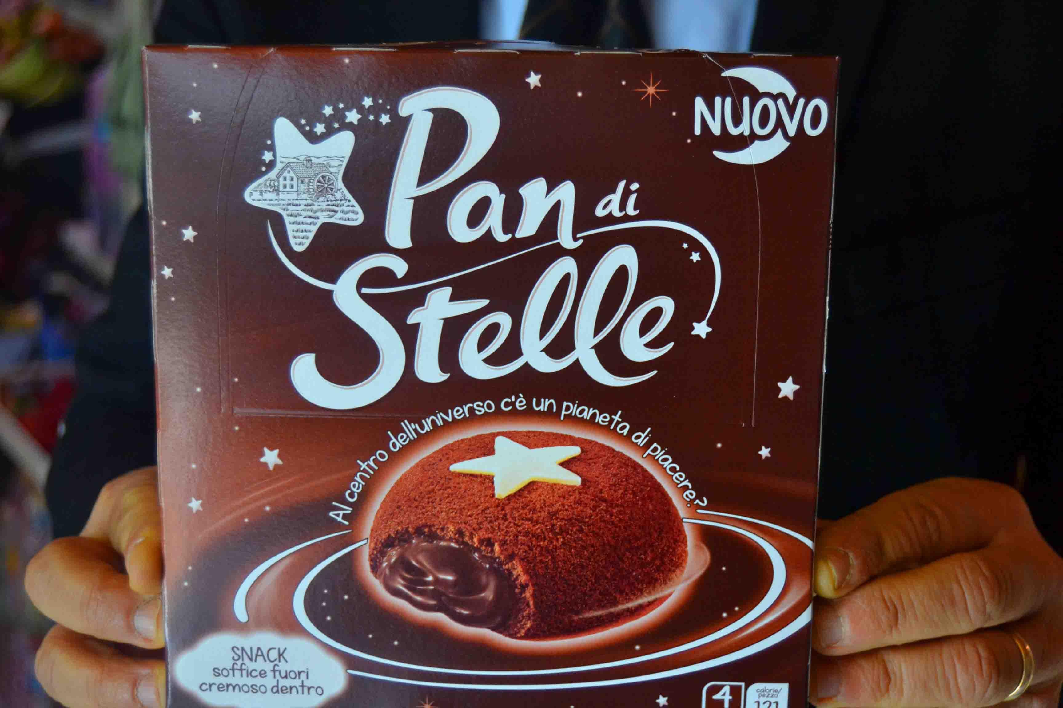 Capri, presentato il pan di stelle Mooncake il nuovo snack della Mulino Bianco