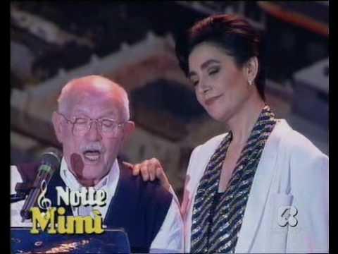 """L'indimenticabile Mia Martini a Capri premiata nel 1989 in piazzetta con """"Donna"""""""