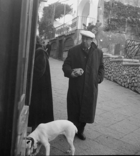 Le poesie scritte a Capri da Pablo Neruda all' asta per 17.000 euro