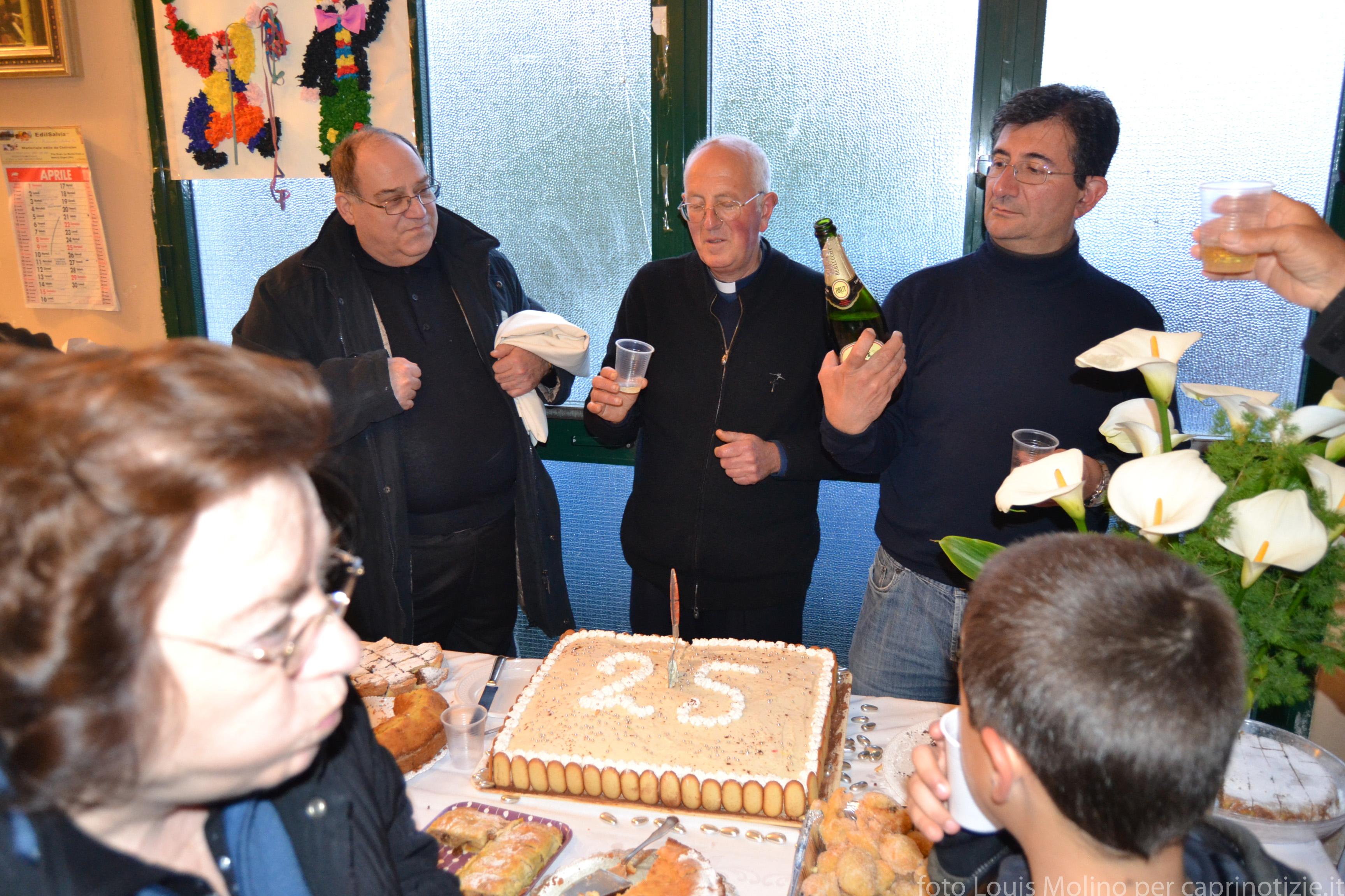 Capri 25 anni di celebrazioni per Don Vincenzo Simeoli Le foto