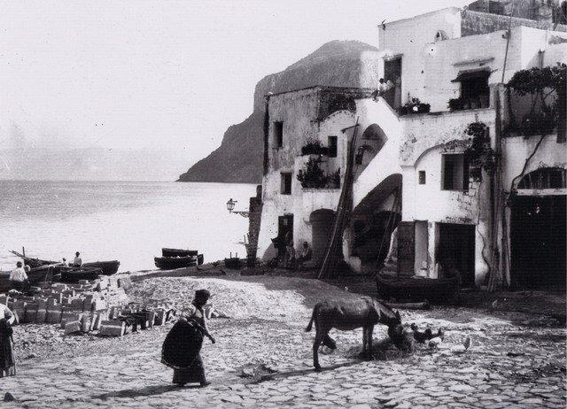 Isola di Capri la canzone popolare video e musica del 1930