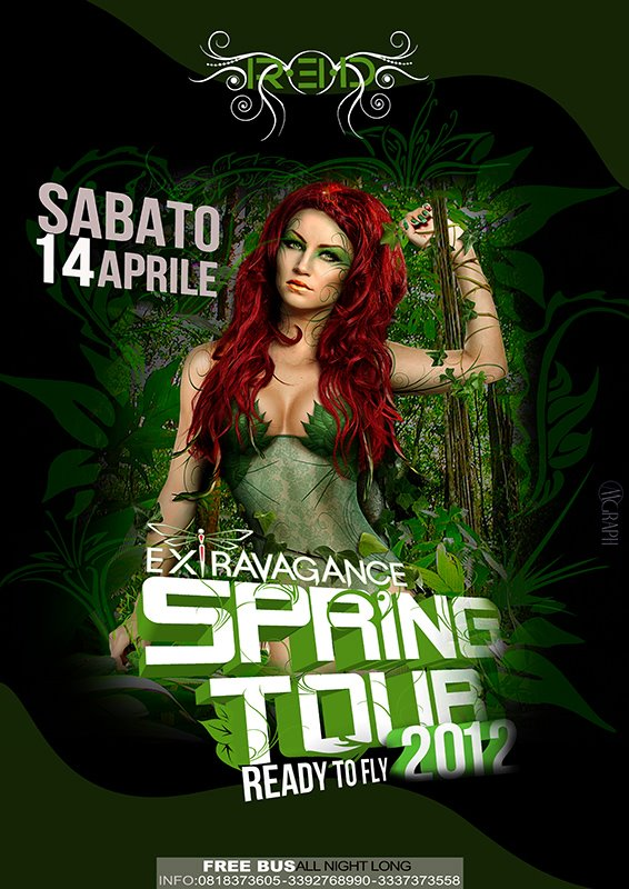 Extravagance apre lo springtour 2012 al Red di Anacapri