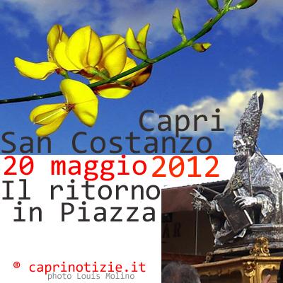 San Costanzo, la processione di ritorno verso l'ex cattedrale Santo Stefano