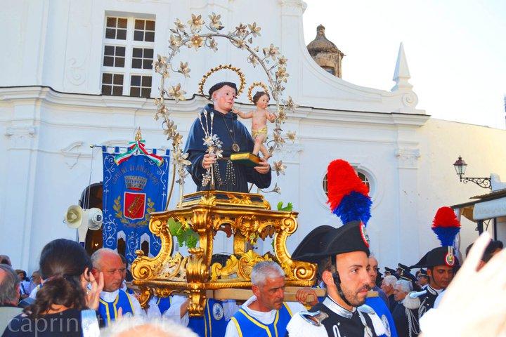 Sant' Antonio patrono di Anacapri, il programma religioso e civile