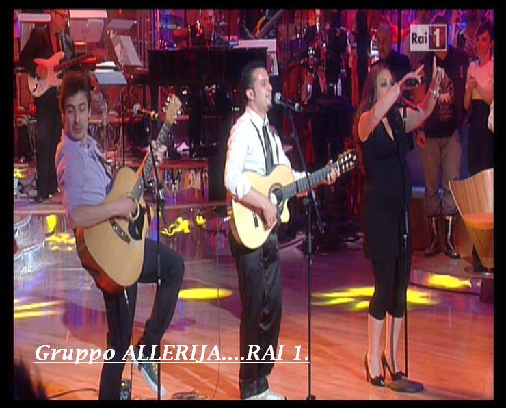 Gli Allerja big band giovedi' sera all' Anema e Core e venerdi' al Celeste