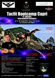 Tacfit Bootcamp a Capri il 27 e 28 settembre