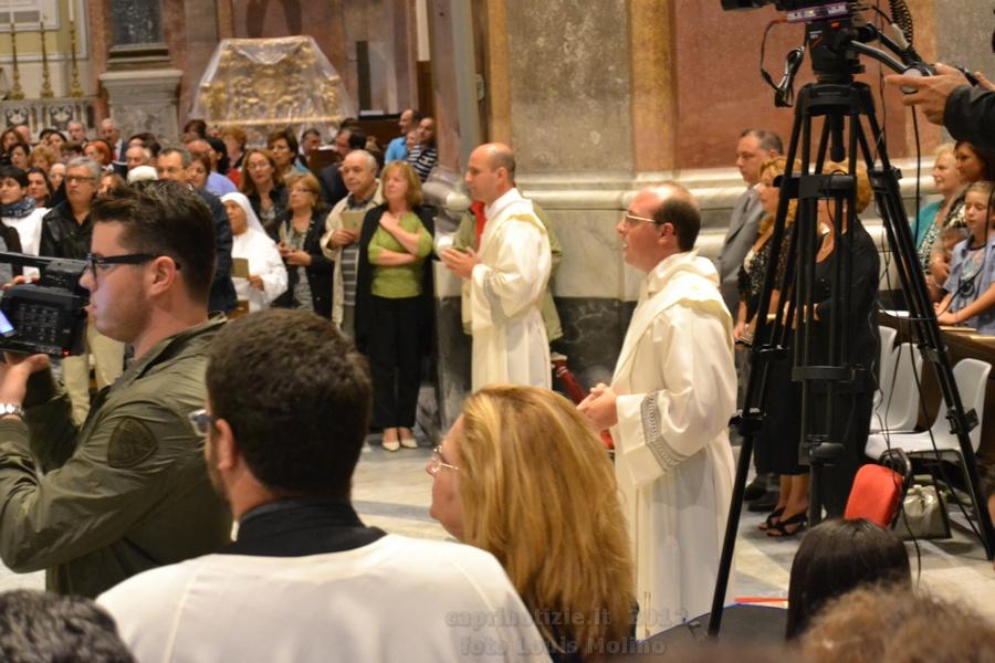 Ordinazione sacerdotale del caprese Don Massimo Maresca, le foto