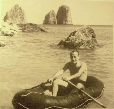 Le vacanze di Toto' a Capri nel 1948