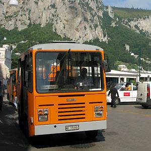 Maltempo Capri: Autisti Atc di Capri garantiscono il servizio