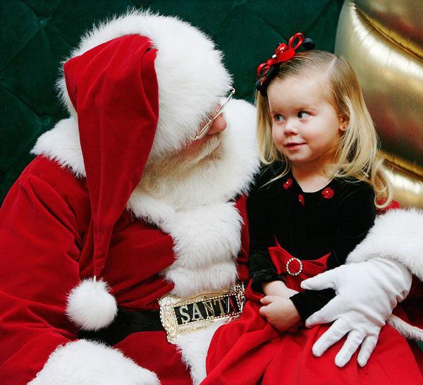 Babbo Natale ad Anacapri per ritirare le letterine dei bambini