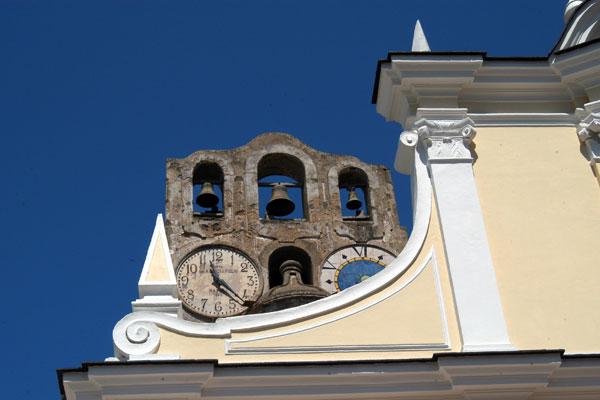 Anacapri, il presepe nella chiesa di Santa Sofia