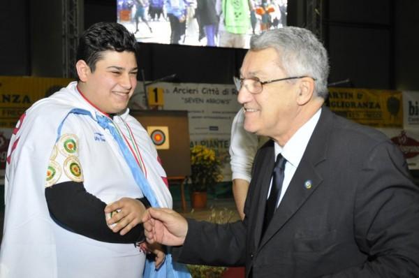 Cataldo Leopoldo campione italia
