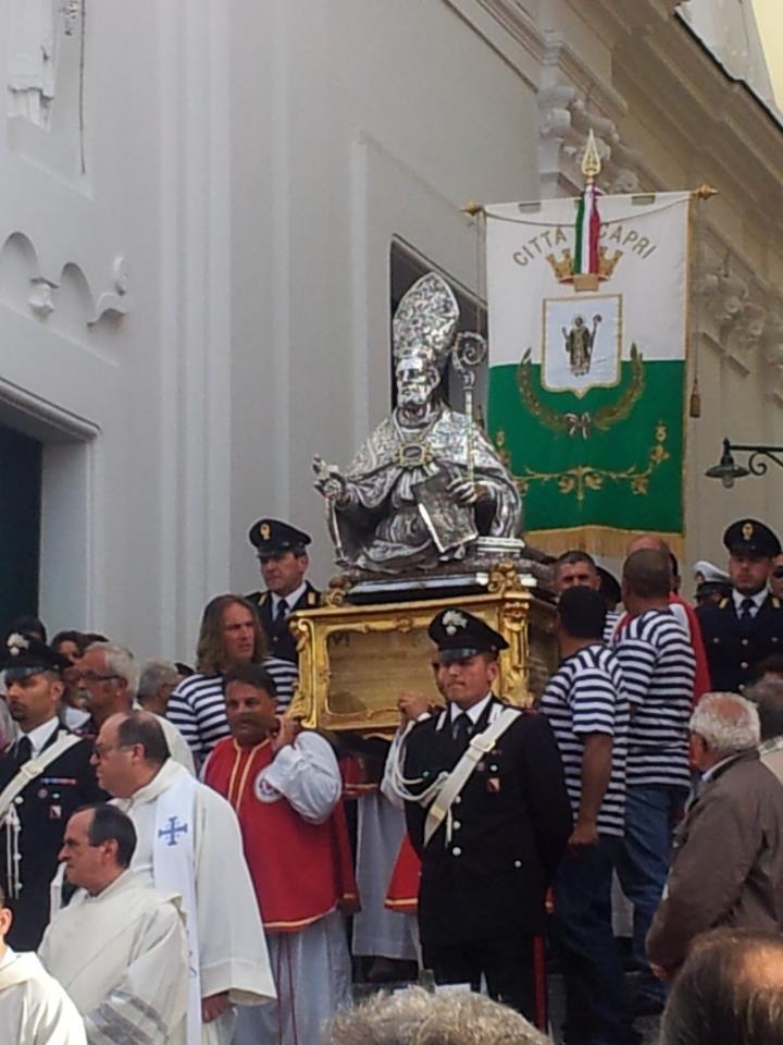 San Costanzo festeggiamenti in onore del patrono di Capri