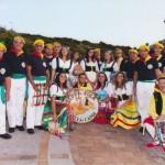 """Folklore e Tradizioni, esibizione della """"Bella Capri"""" ai Giardini della Flora Caprense"""