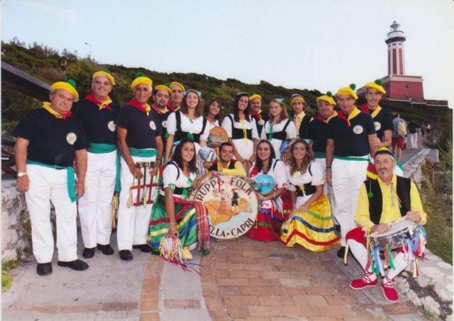 La banda folkloristica Bella Capri in concerto a Marina Grande per i festeggiamenti in onore di San Costanzo