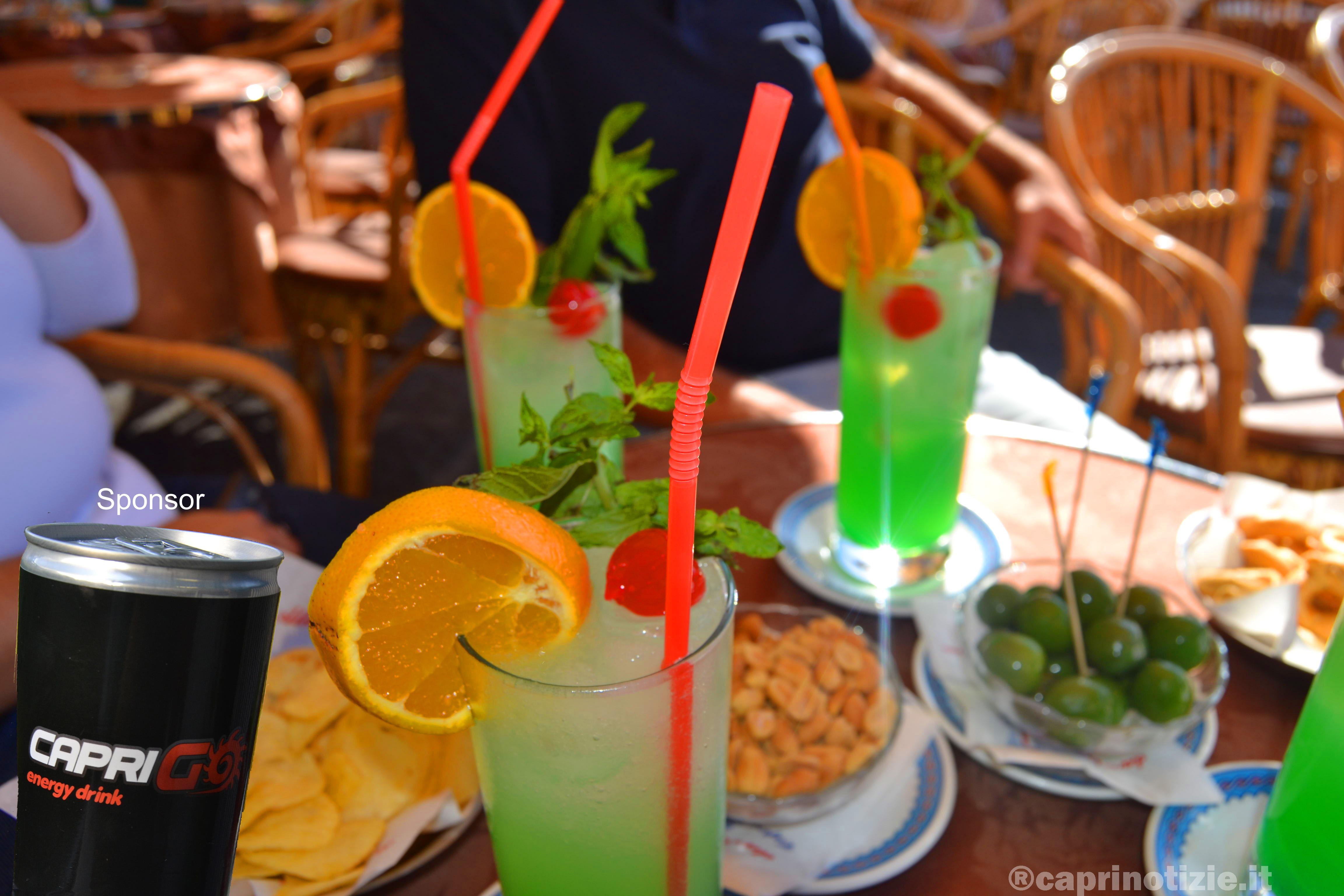 Capri ore 19:50 aperitivo in piazzeta