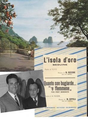 isola d'oro canzone capri scritta da toto' cantata da giacomo rondinella