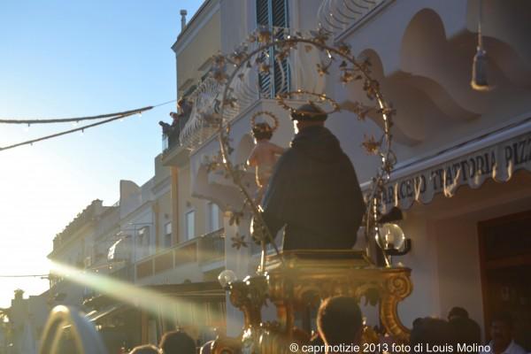 la processione di sant' antonio 2013 le foto