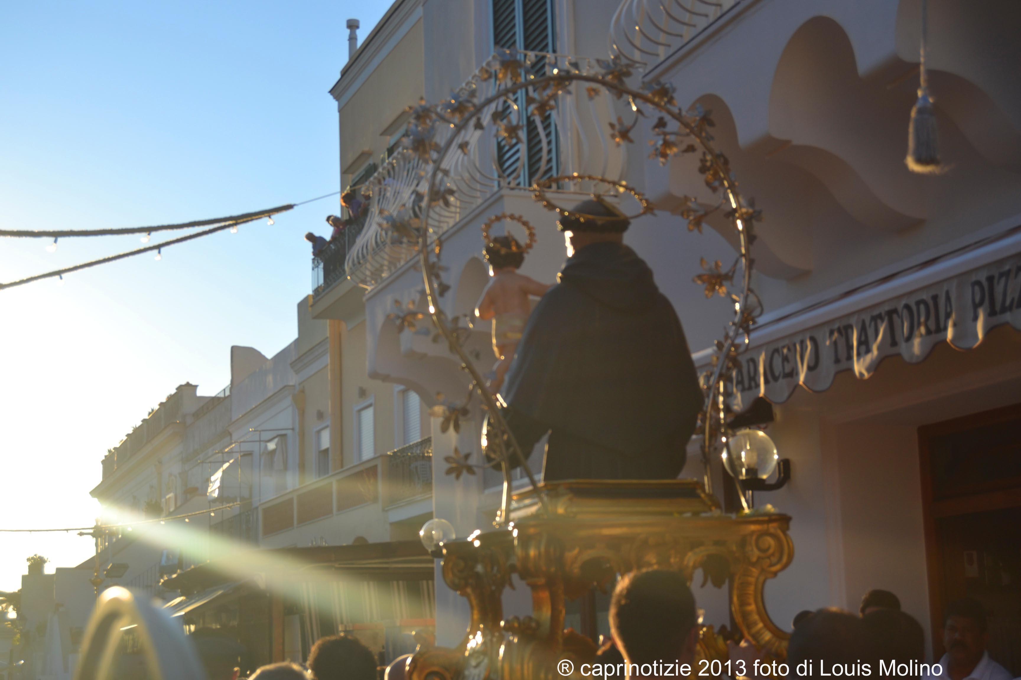Anacapri: Sant' Antonio 2014 tutti gli appuntamenti religiosi e civili