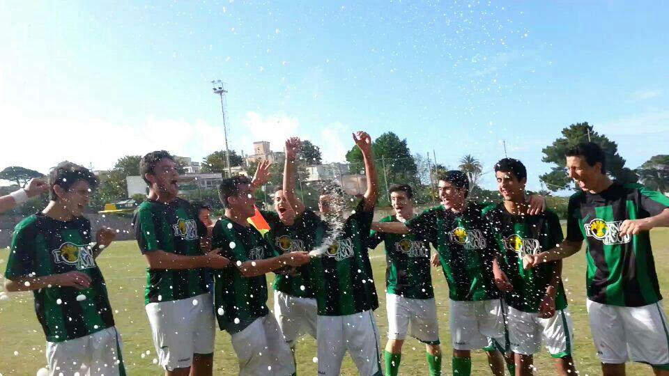 Calcio, gli allievi dell' Olimpia Capri vincono anche la prima dei Play Off