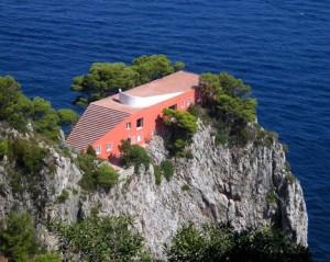 Case vacanze a capri for Villa curzio malaparte
