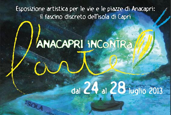 Anacapri incontra l'arte, dal 24 al 28 Luglio il programma completo