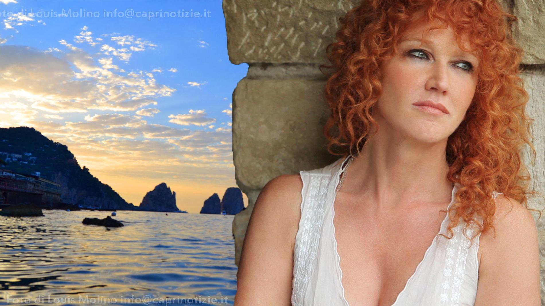 """Fiorella Mannoia a Capri , concerto in occasione di """"San Lorenzo al porto"""""""