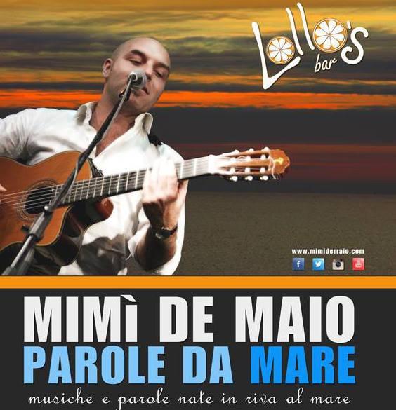 """Anacapri,Mimì De Maio in concerto """"Parole da Mare"""""""